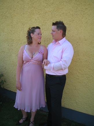 Min dotters gifte sig 17:e juni